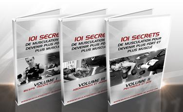 Les 3 DVD des 101 secrets de musculation pour devenir plus fort et plus musclé
