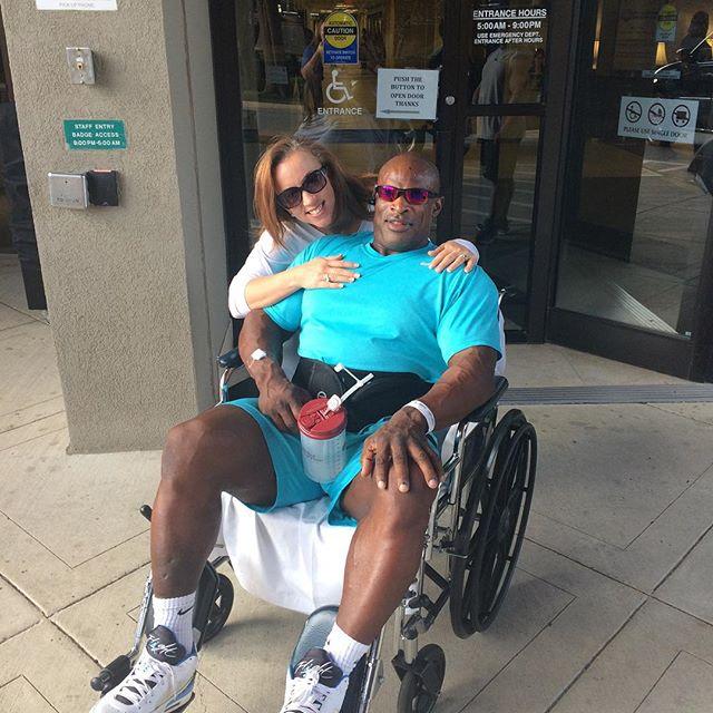 Culturisme ronnie coleman en chaise roulante apr s 7 for Basketball en chaise roulante