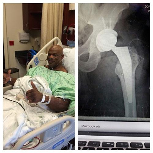 Culturisme: Ronnie Coleman à l'hôpital