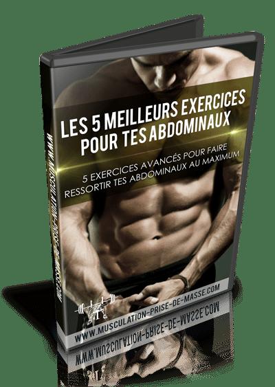 DVD Les 5 meilleurs exercices pour découper ton six-pack